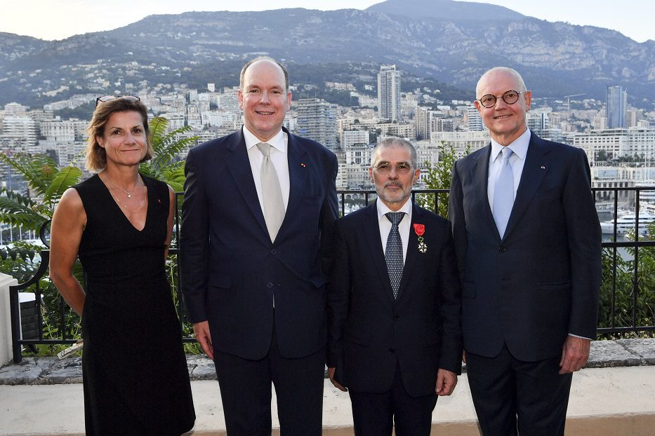 Minister of Interior honoured by France