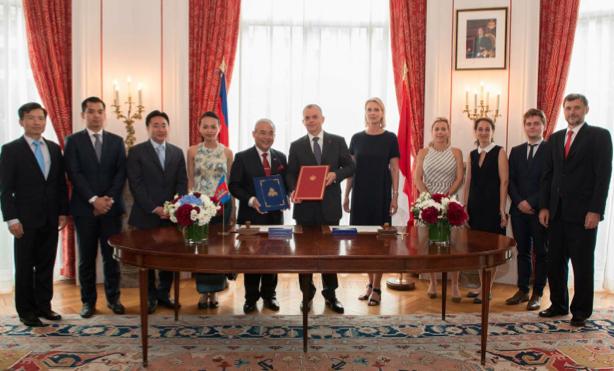 Monaco and Cambodia establish relations