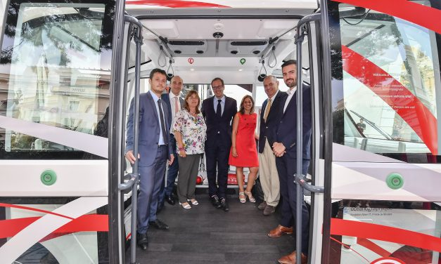 Monaco introduces first driverless shuttle