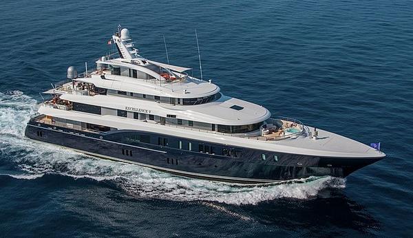 Prince Albert cruises Dalmation coast