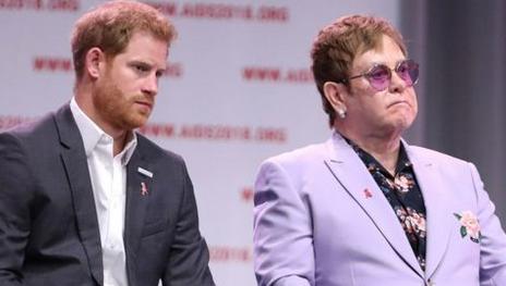 Elton John defends Prince Harry and Meghan Markle over holiday flights