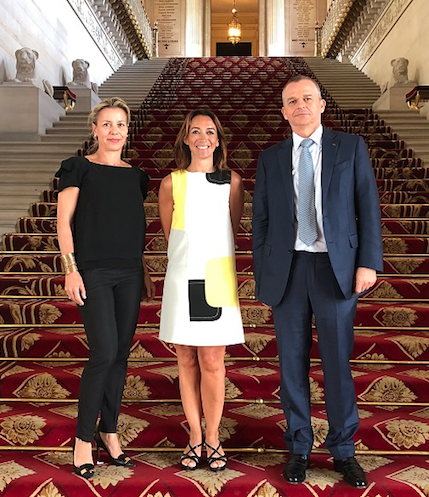 Monaco officials at round table on social fraud in Europe