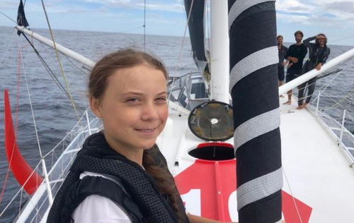 Greta Thunberg makes it to New York with MYC help