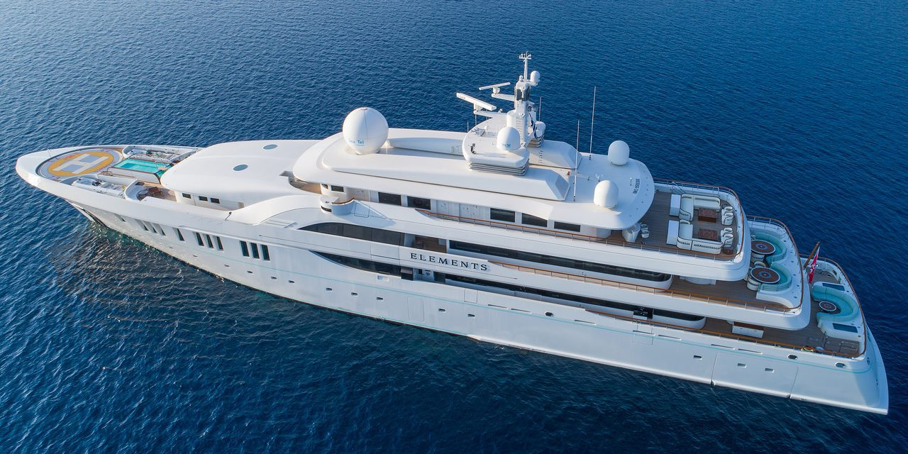 Elements delivered to owner by Yachtley, moored at MYS