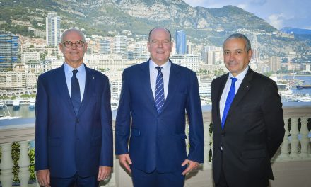 Ambassador of France to Monaco completes formalities