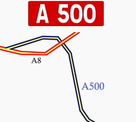 Overnight closures of A500 through Monaco tunnel