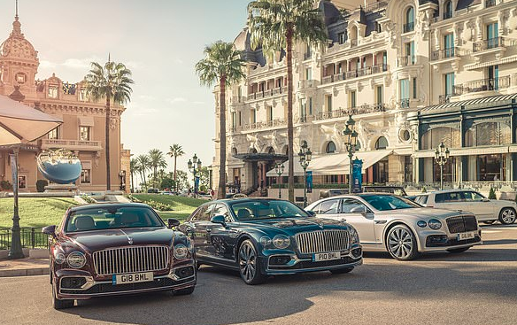 Bentley uses Monaco as backdrop for Flying Spur launch