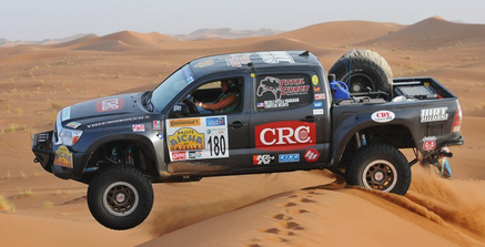 Famous names team up for Mongolian rally challenge