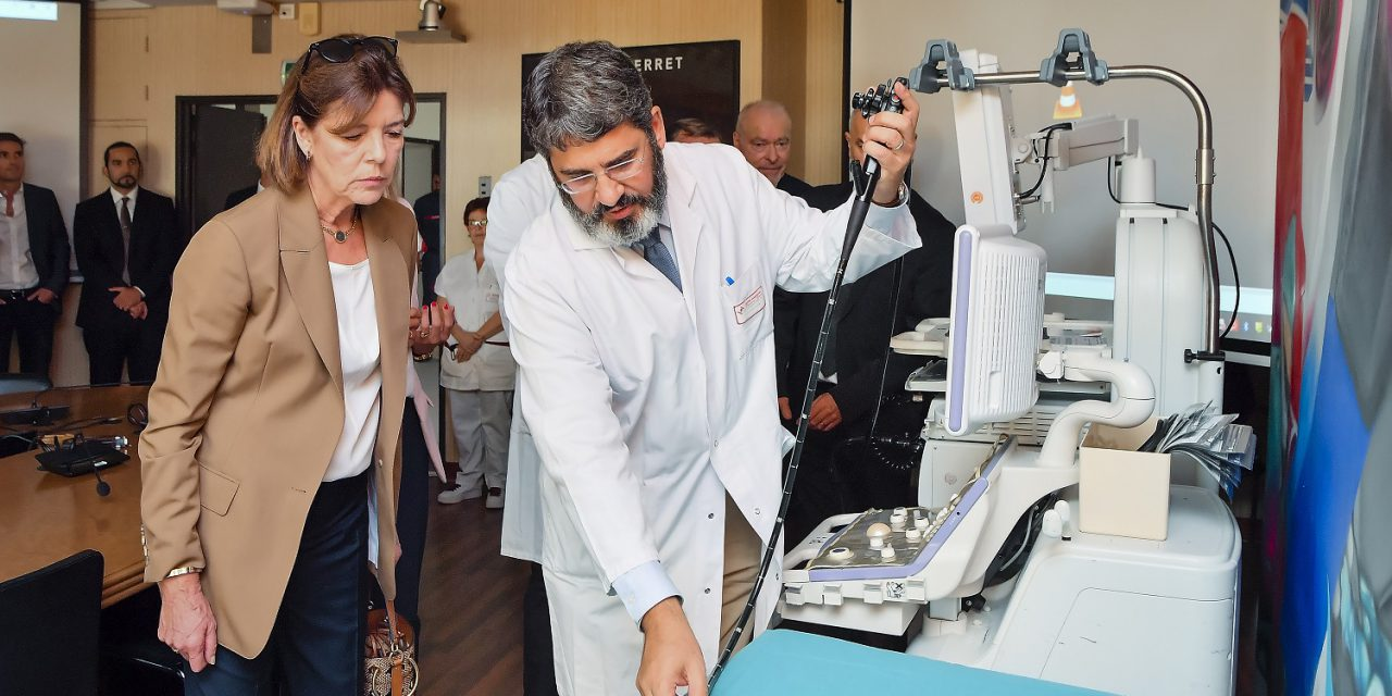 Princess inaugurates new equipment financed by GEMLUC