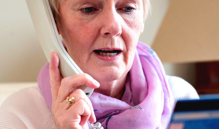 Warning on telephone scam targeting elderly people