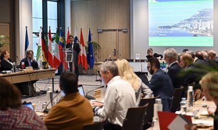 Monaco hosts 68th Alpine Convention states