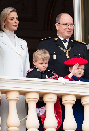 Palace posts charming National Day photos