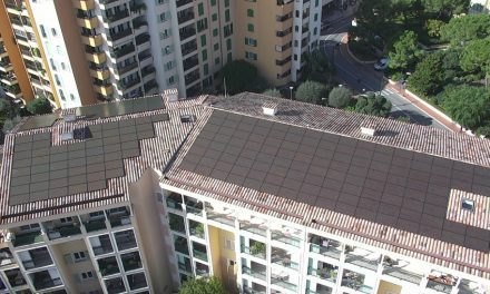 New solar roof in Fontvieille the largest yet