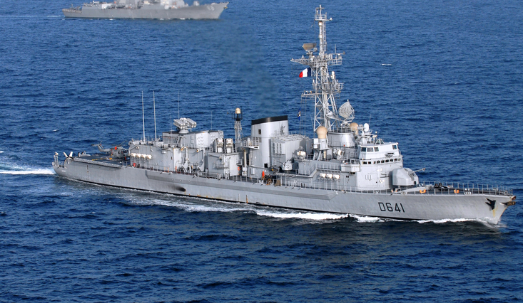 France leads the way with Gulf naval force