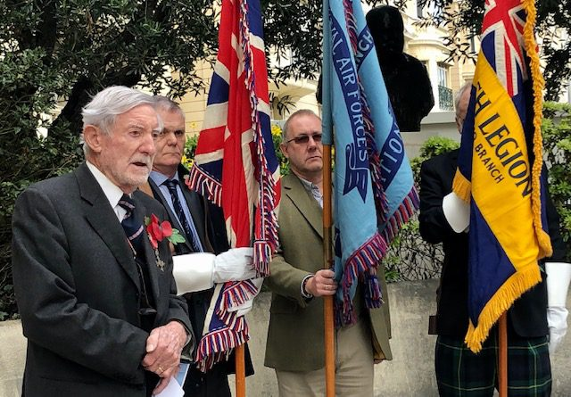 Remembrance Day observed by Monaco community