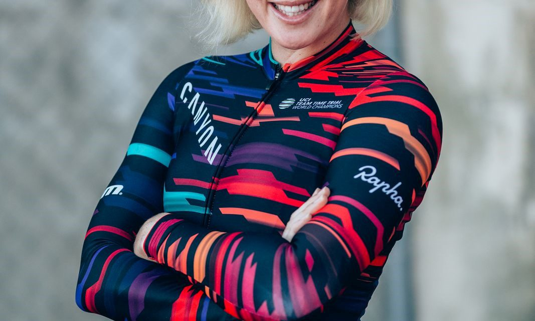 Top woman cyclist the guest at 'Be Here Now' ladies' lunch
