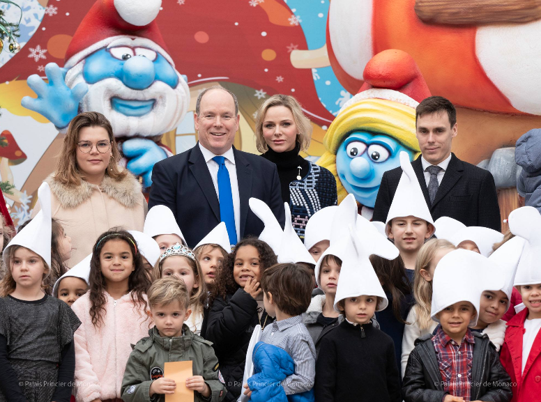 Prince and Princess host Monaco's children for Xmas party