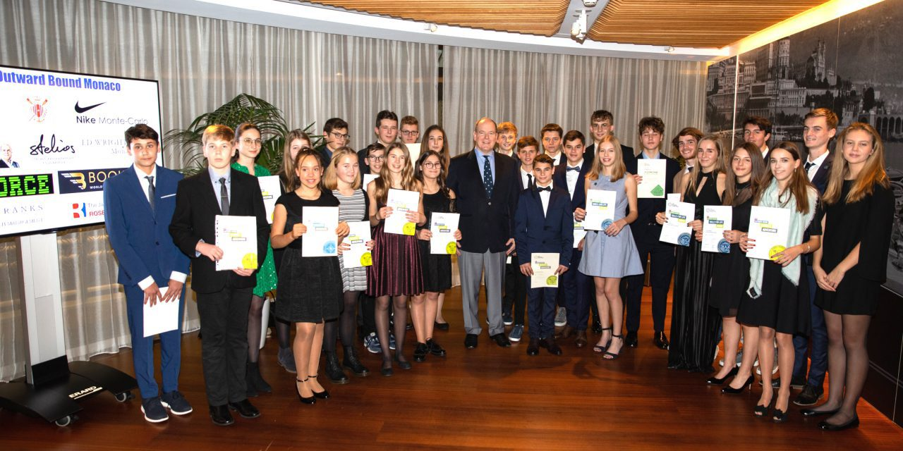 Outward Bound participants together again for awards