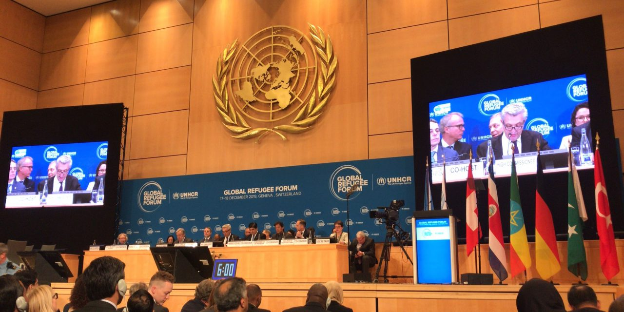 Monaco takes part in first World Refugee Forum in Geneva
