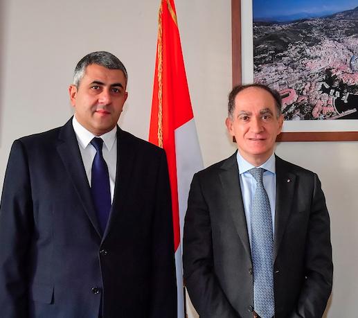 Secretary General of World Tourism Organisation visits Monaco