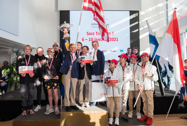 Young American sailors take Monaco Optimist Team victory