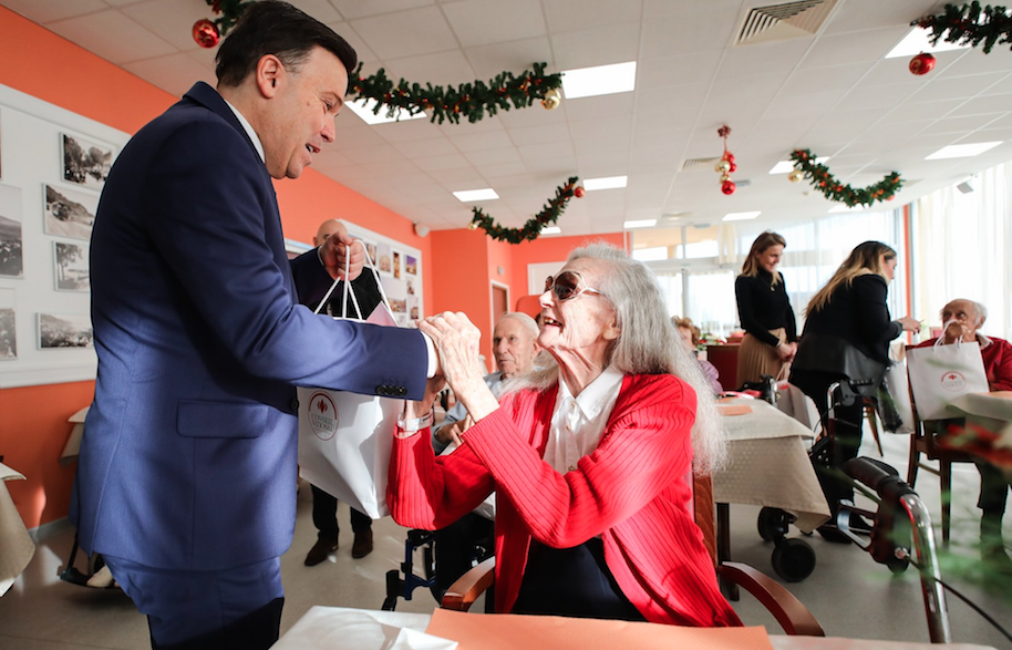 National Councillors visit and thank Monaco's elderly