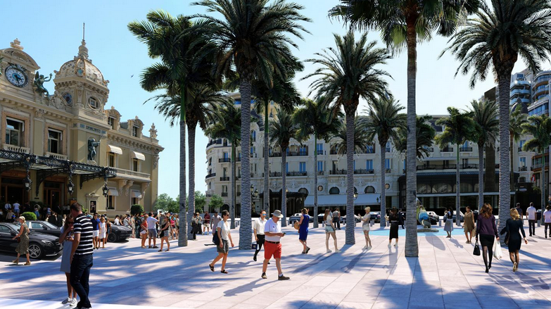SBM revamps Place du Casino to enable big events
