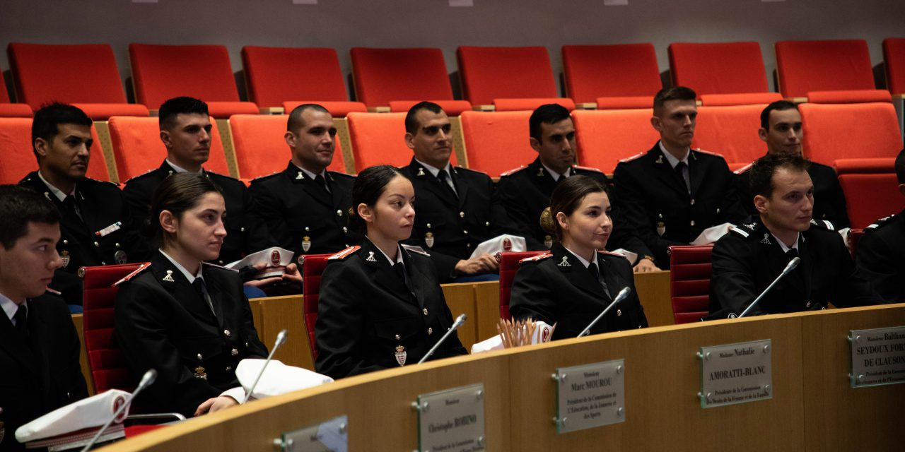 Warm welcome for Police Academy students