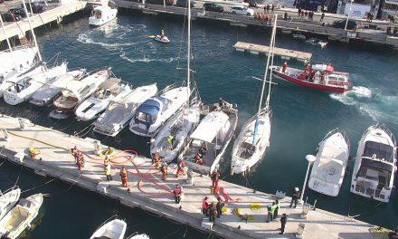 Fire exercise in Port of Monaco sharpens emergency response