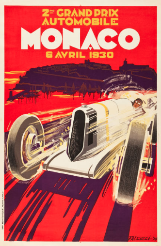 'First' Monaco Grand Prix poster offered for sale