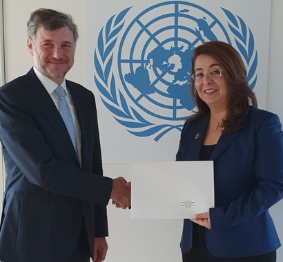 Frédéric Labarrère accredited to UNODC and UNIDO
