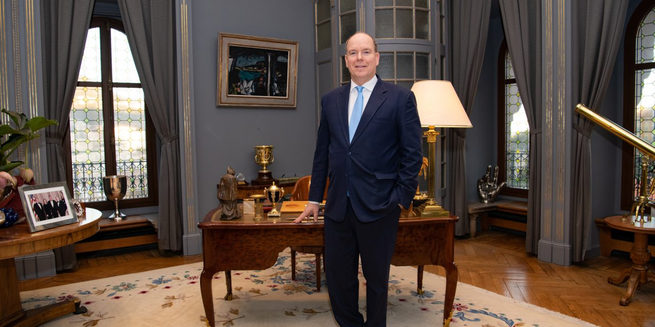 HNW magazine hails 'landmark moment' with Prince Albert interview