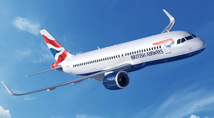 BA still flies the flag to and from Nice
