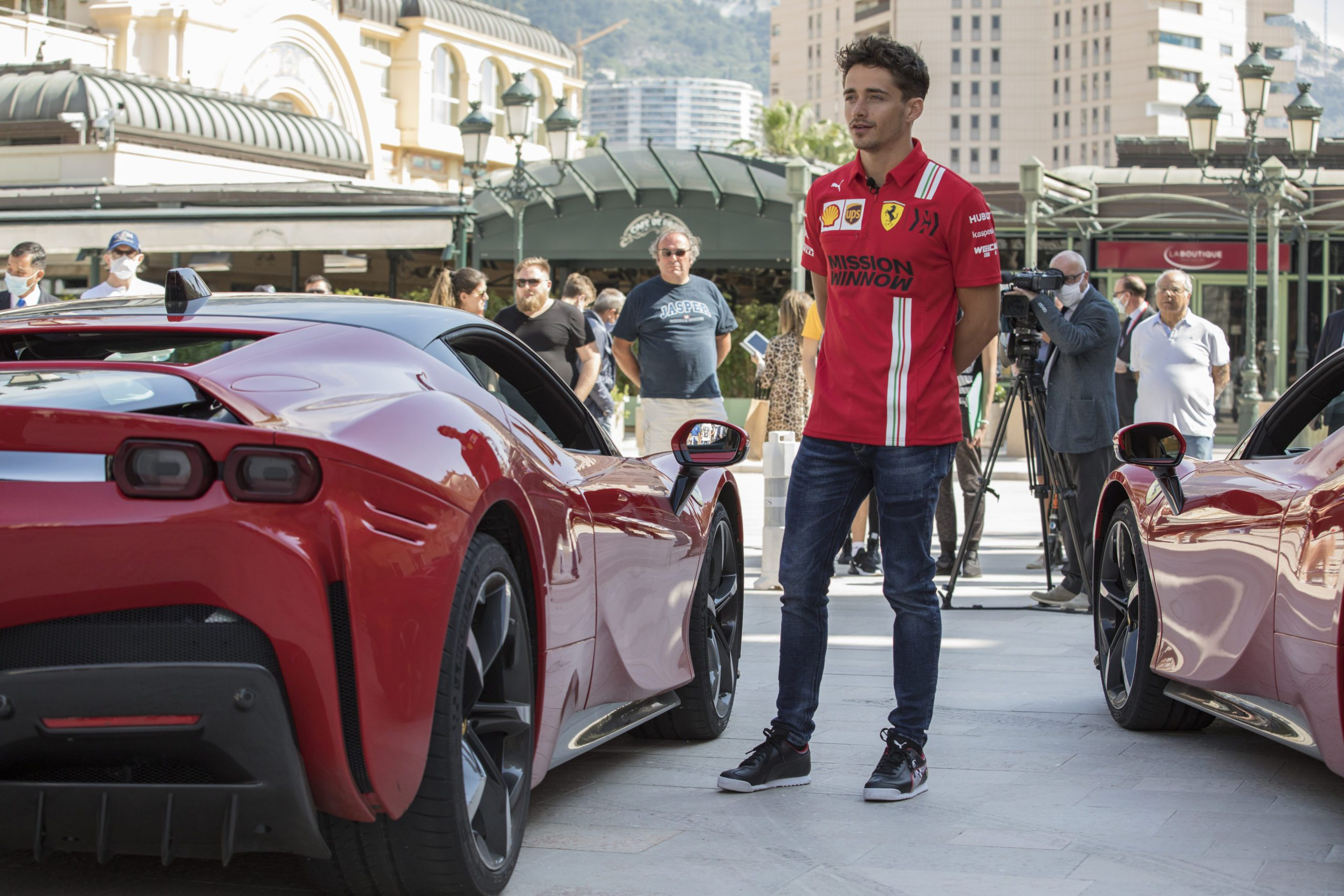 """Leclerc storms the streets of Monaco in """"Le Grand Rendezvous"""""""