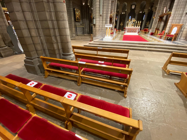 Mass resumes in Cathedral, churches and chapels in Monaco