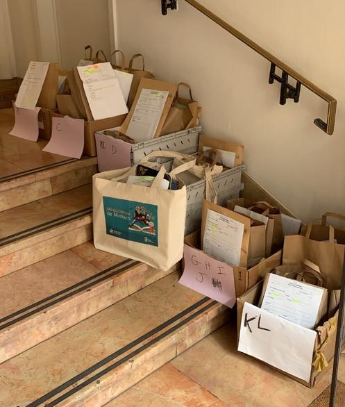 Monaco's library offers takeaway service