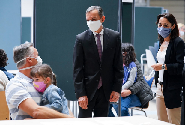 "Resident coronavirus testing gets off to ""calm"" start"