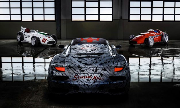 Maserati pay tribute to Stirling Moss with unique prototype