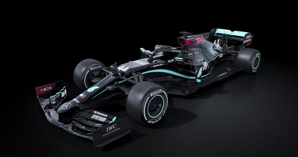 Inspired New Look For Mercedes-AMG F1 Car