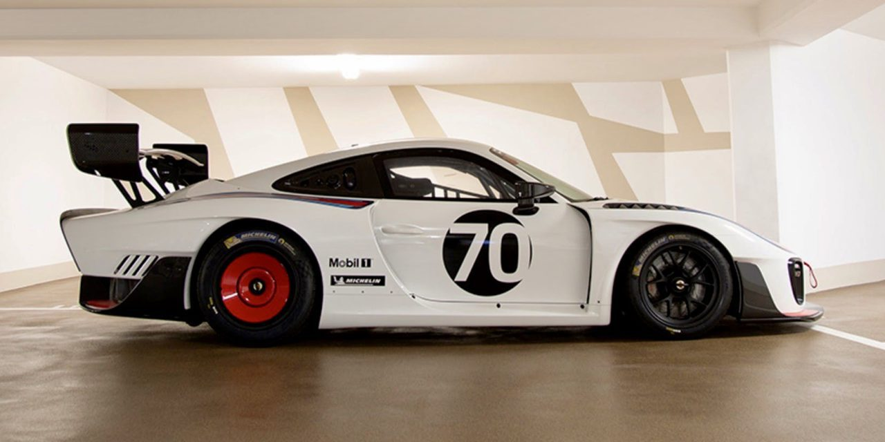 Mint condition Porsche race-car set to double in value after 3 months in Monaco Garage