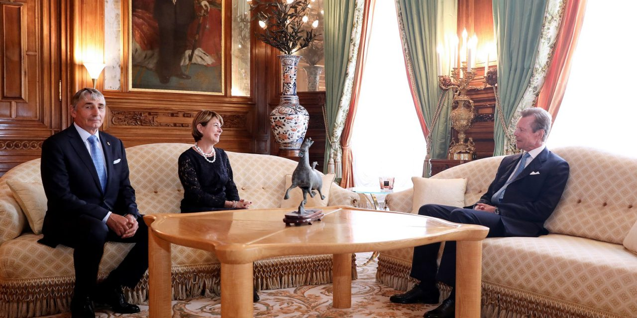 Ambassador presents credentials to Grand Duke of Luxembourg