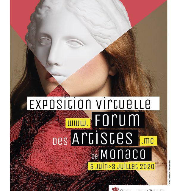 Fifth Monaco Artists Forum Virtual exhibition 'opens doors' on Friday