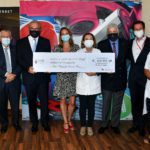 CMB hands over cheque to Princess Grace Hospital after remarkable fund-raising effort