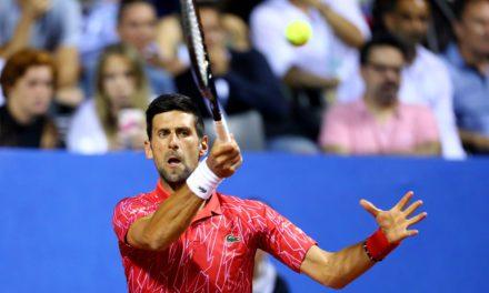 Djokovic tests positive for coronavirus