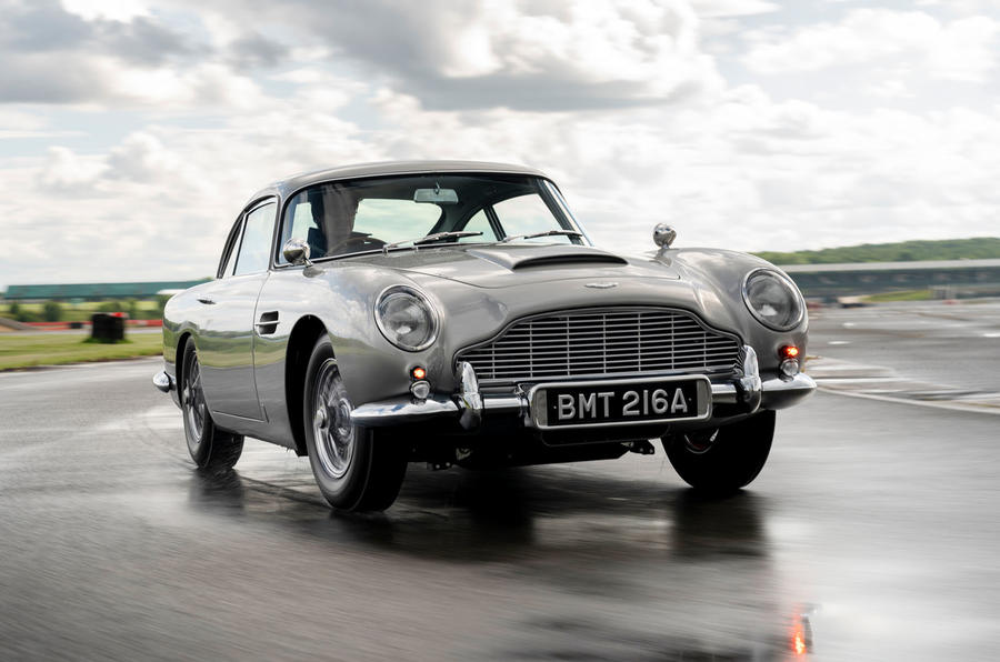 Aston Martin Db5 returns with all the extra trimmings