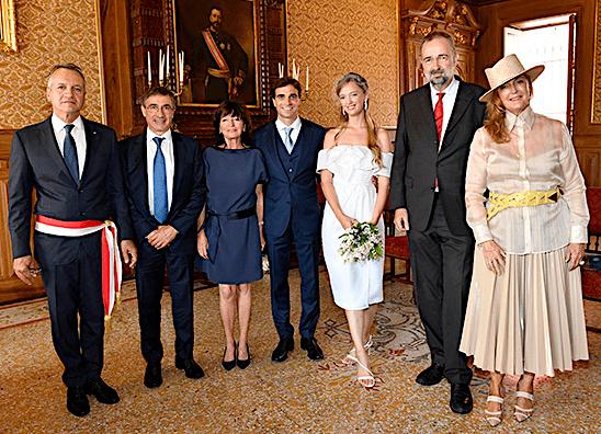 Eleonore von Habsburg marries her racing beau in Monaco