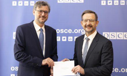 New Monaco representative to the OSCE
