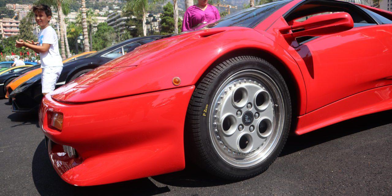 Lamborghini rally descends on Casino Square