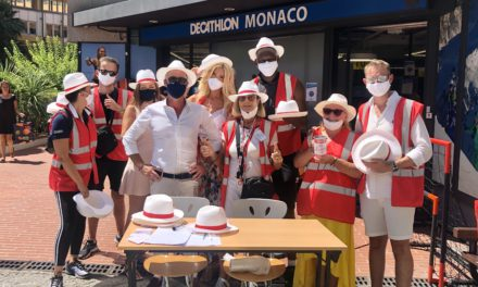 Guardian Angels of Monaco help in fight against severe poverty