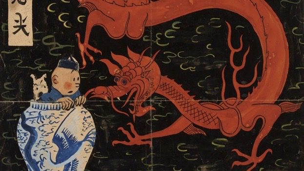 Tintin art to make a splash at Artcurial auction